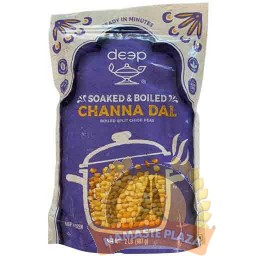 DEEP FROZEN SOAKED & BOILED CHANNA DAL 2LB