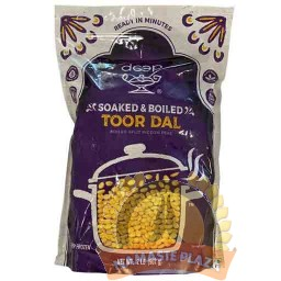 DEEP FROZEN SOAKED & BOILED TOOR DAL 2LB