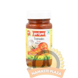 PRIYA TOMATA PICKLE WITH OUT GARLIC 300GMS