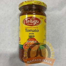 TELUGU TOMATO PICKLE WITH OUT GARLIC 300GMS