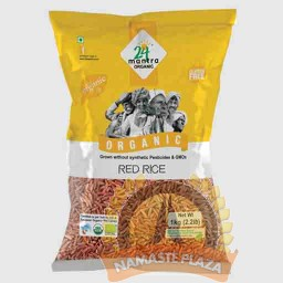 MANTRA ORG RED RICE 4LB