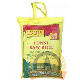 UDUPI PONNI RAW RICE 20 LB