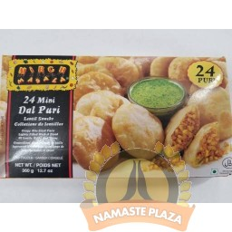 MIRCH MASALA FROZEN DAL PURI MINI 24 PCS