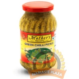Mother's Green Chilli Pickle 500Gms