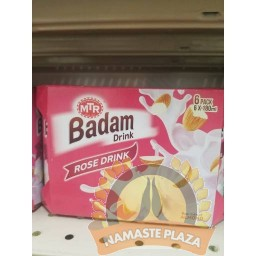 MTR BADAM ROSE DRINK 180ml X 6PK