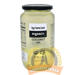 BYTEWISE ORGANIC COCONUT OIL COLD PRESSED 1Ltr