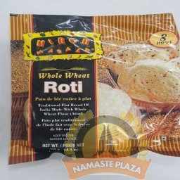 MIRCH MASALA FROZEN WHOLE WHEAT ROTI 14OZ