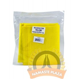 Pooja yellow cloth front