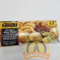 MIRCH MASALA FROZEN ALOO PURI MINI 24PCS