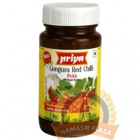 PRIYA GONGURA RED CHILLI WITH OUT GARLIC