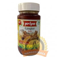 PRIYA GINGER PICKLE WITH OUT GARLIC 300 GMS