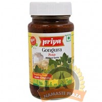 PRIYA GONGURA WITH OUT GARLIC 300GMS