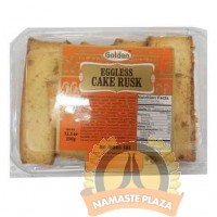 GOLDEN EGGLESS CAKE RUSK 12OZ