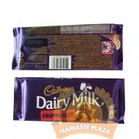 CADBURY DAIRY FRUIT & NUT 110G