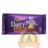CADBURY DAIRY WHOLE NUT 200G