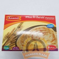 ANAND FROZEN WHOLE WHEAT POROTTA 16OZ