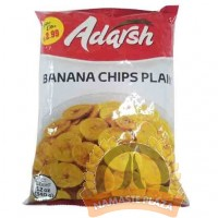 ADARSH BANANA CHIPS 12OZ