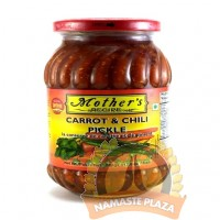 MOTHERS CARROT CHILLI PICKLE 500GMS
