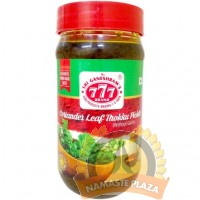 777 CORIANDER LEAF PICKLE 300GMS