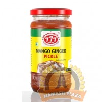 777 MANGO GINGER PICKLE 300GMS