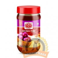 777 HOT ONION PICKLE 300GMS