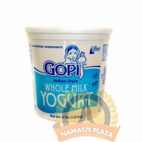 GOPI WHOLE MILK YOGURT 4 LB