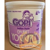 GOPI NON FAT YOGURT 4 LB