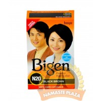 Bigen Brown black front