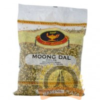 DEEP GREEN MOONG DAL CHILKA(WITH SKIN) 4LB
