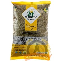 MANTRA ORG GREEN MOONG WHOLE(WITH SKIN) 4LB