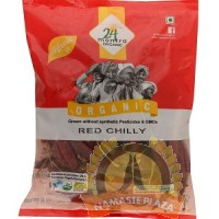 Mantra Organic Whole Red Chilli 200gm