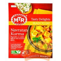 MTR Ready to eat Navratan Kurma front