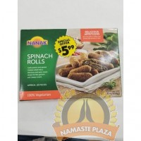 NANAK SPINACH ROLL 454GMS