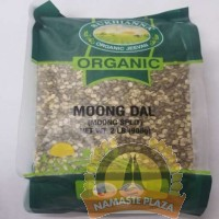 SUKHIANNA ORG GREEN MOONG SPLIT(WITH SKIN) 2 LB