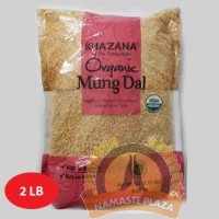 KHAZANA ORG MOONG DAL(WITHOUT SKIN) 2LB