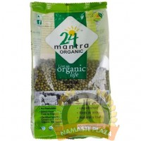 MANTRA ORGANIC GREEN MOONG WHOLE (WITH SKIN)2LB