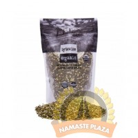 BYTEWISE ORGANIC GREEN MOONG DAL SPLIT(WITH SKIN) 2LB