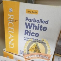 DELTA PARBOILED WHITE RICE (LONG GRAIN) 50LB