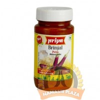 PRIYA BRINJAL PICLE WITH OUT GARLIC 300GMS