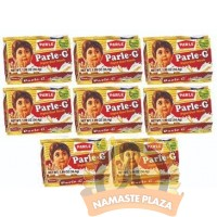 PARLE GLUCOSE BISCUITS 40/50GMS PACK OF 8
