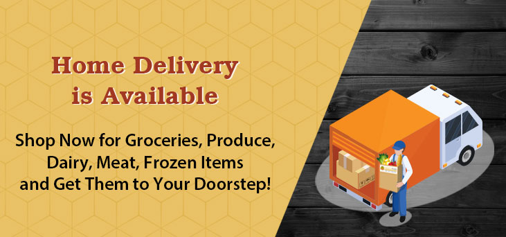 Now Available Home Delivery