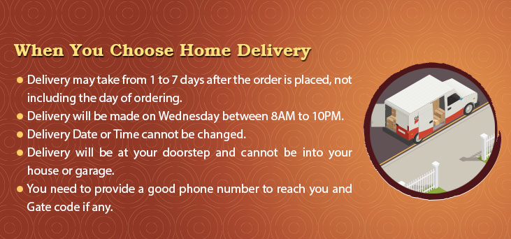 Home Delivery Rules